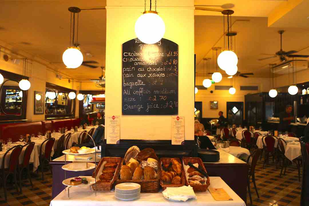 Family Brunch at La Brasserie, Brompton Road SW3