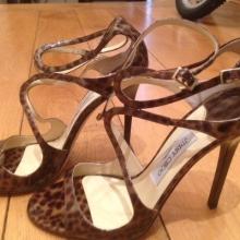 Jimmy Choo high heel sandals