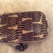 Bottega Veneta python bag